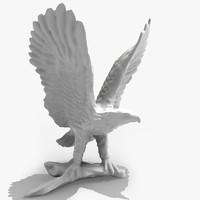 3d eagle model