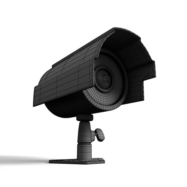 security camera 3d model - Security Camera... by JS 3D
