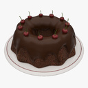 Chocolate Cake 3D models