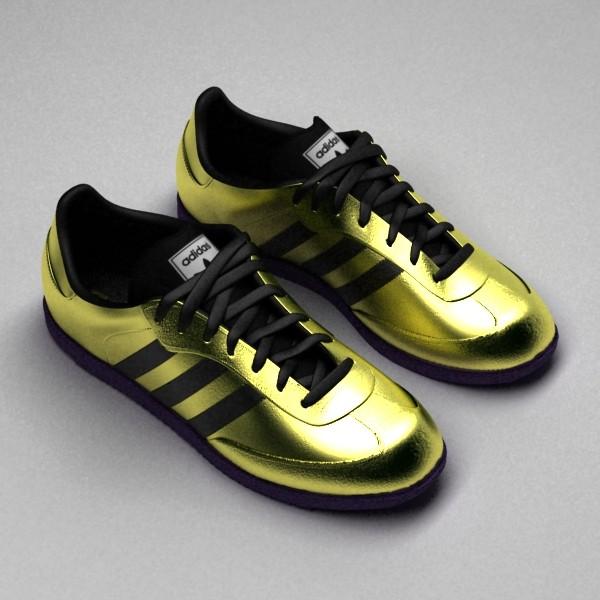 Turbo Squid Adidas Shoe Model
