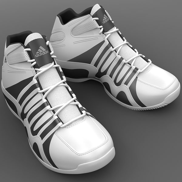 maya basketball shoes adidas crazy - Basketball Shoes Adidas Crazy Feather... by 3d_molier