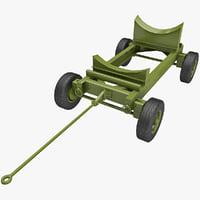 3d bomb cart v7 model