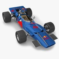 3dsmax realistic f1 matra 1969