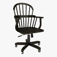 3d larsson swivel chair