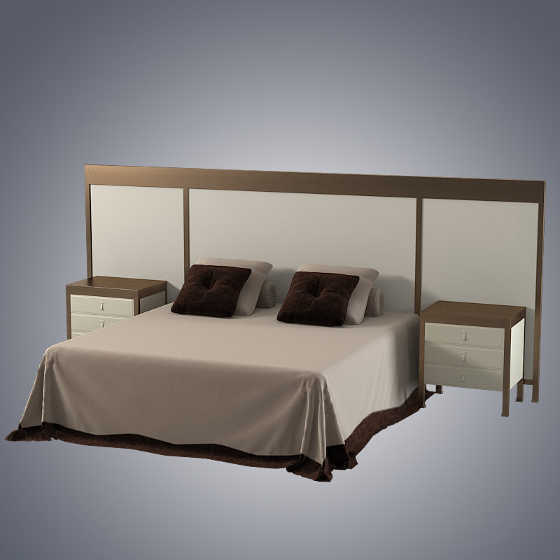 b Promemoria GONG bed double bedside tables modern contemporray table night stand nightstand0001.jpg