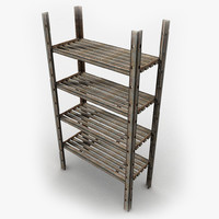 Metal Rack Textured
