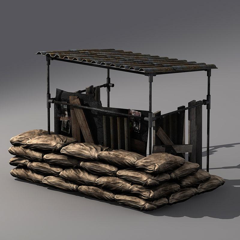 max sandbag bunker