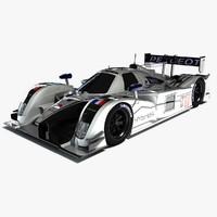 peugeot 908 hybrid4 racecar 3ds