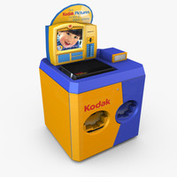 maya retail kodak photo kiosk