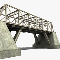 Bridge Metal Girders