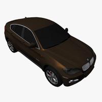 BMW X6 Lowpoly