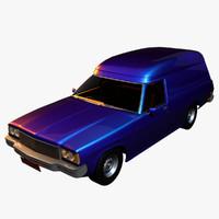 3d model holden sandman panelvan