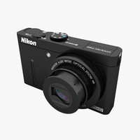 nikon coolpix p300 camera lens 3d 3ds