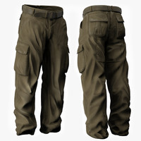 Man's Trousers - Military Style