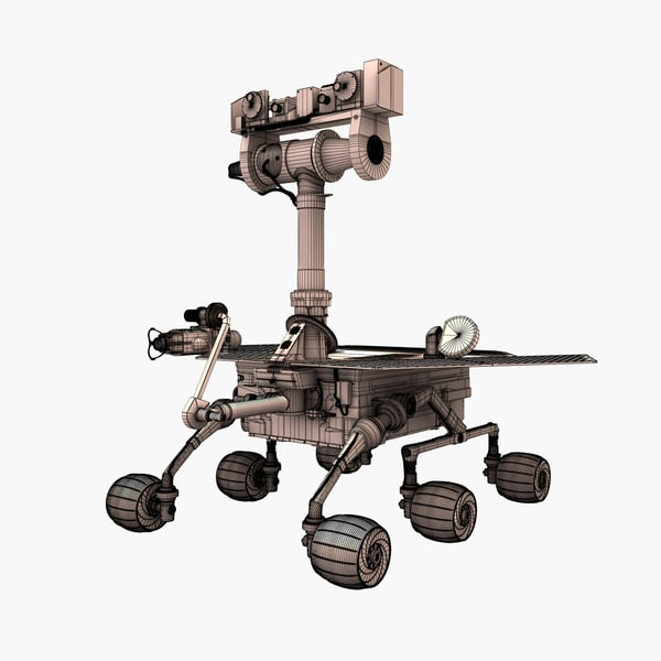 spirit rover model - photo #16