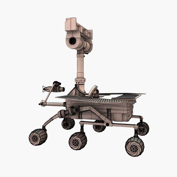 spirit rover model - photo #35