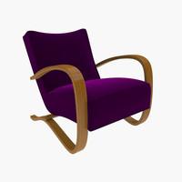 3d model armchair art deco