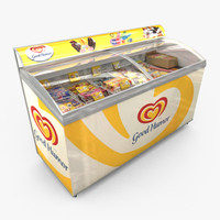 Grocery - Ice Cream Freezer