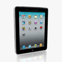 apple ipad 3 3d model