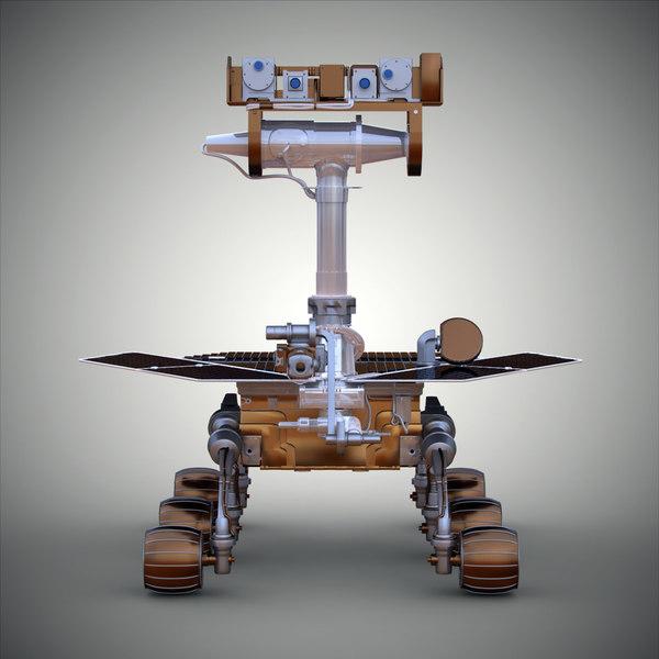 spirit rover model - photo #36