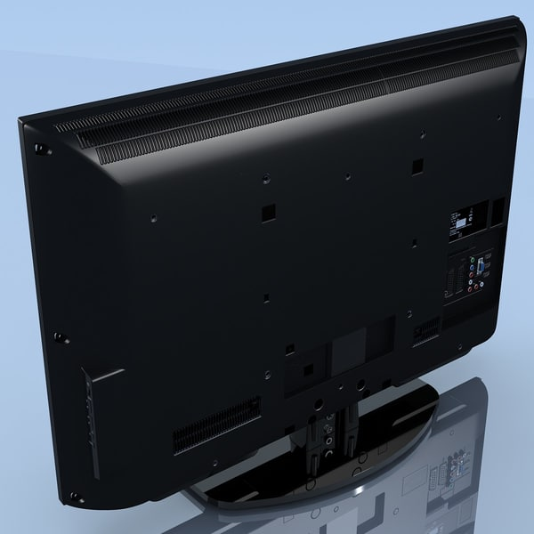 3d model of tv sony bravia kdl-40ex402r - TV SONY Bravia KDL-40EX402R... by 3DLocker