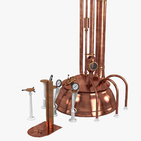 3d brewery kettle model