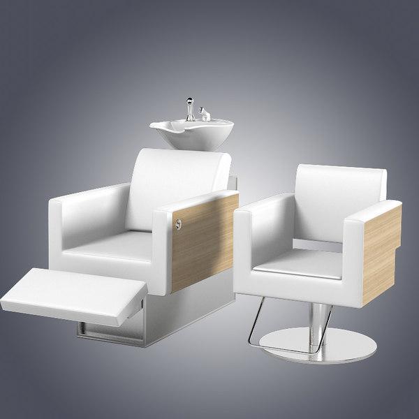 Welonda Comfort Beauty Salon Furniture 3d Max