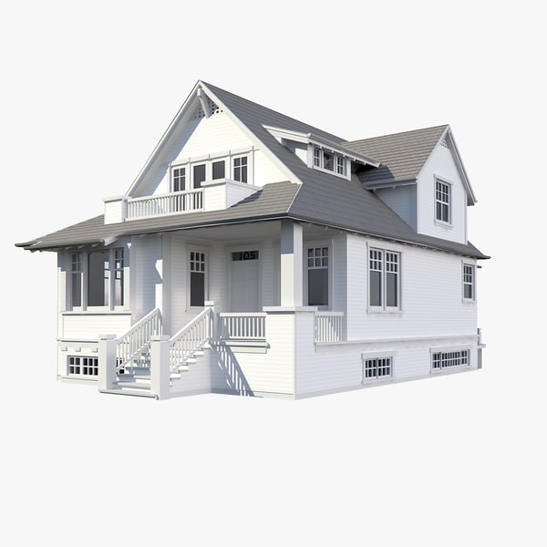 3d family house model House designs online free 3d