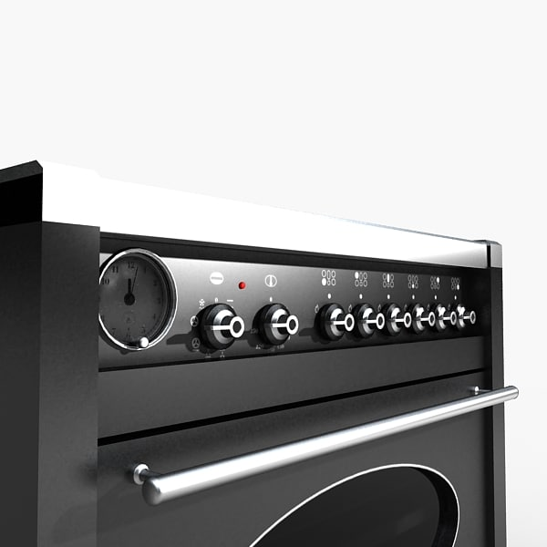 kitchen oven 3d obj - Kitchen Oven... by HD_Ready