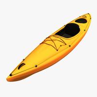 3d model kayak
