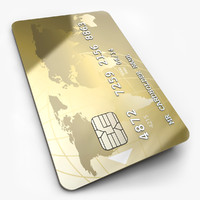 credit card 3D models