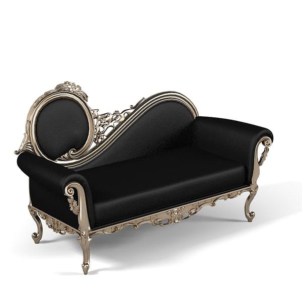 3d Piermaria Eleonora Chaise Lounge