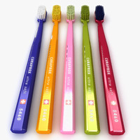 tooth brush 3d 3ds