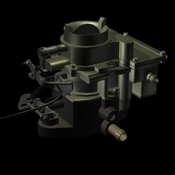 3d single downdraught carburetor - Downdraught Single Bore Carburetor... by WSH