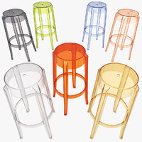 3ds max charles ghost stool 4899