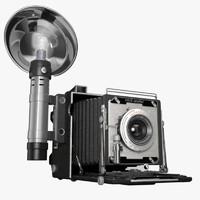 realistic camera dxf