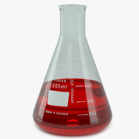Lab Flask Erlenmeyer 500 ml