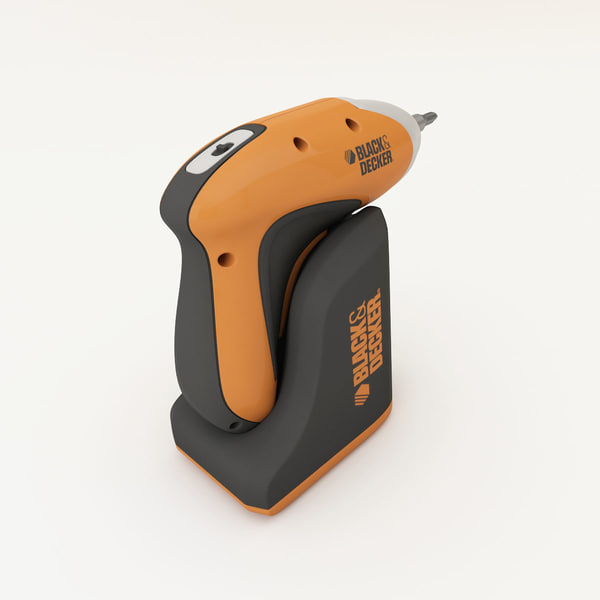 screw-driver 3d model - Drill... by Kama MT
