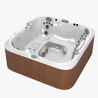 3dsmax jacuzzi j-375 outdoor spa
