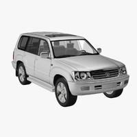 toyota land cruiser 100 3d 3ds