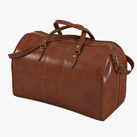 maya leather travel bag
