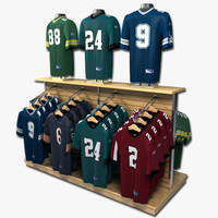 Football Jersey Display
