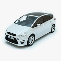 s-max 2011 x sport 3d model