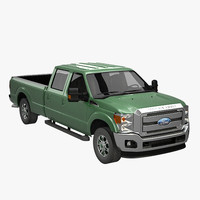 3d heavy duty crew cab model