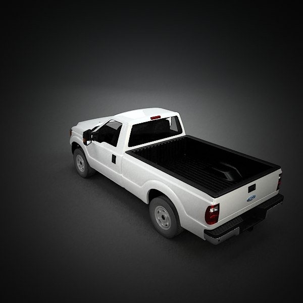 3d heavy duty regular cab model - Ford Super Duty Regular Cab... by QLEE