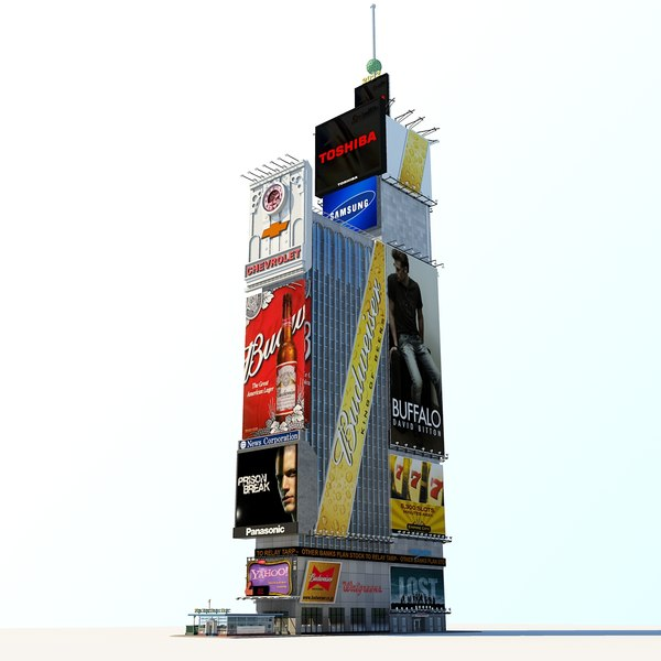 time square max - One Times Square... by FraP