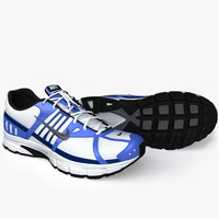 3d model of realistic sport shoes