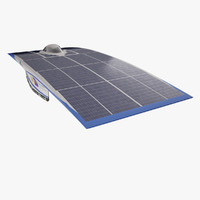 Solar vehicle Nuna6