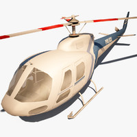 3ds max police helicopter