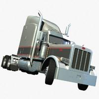 379 truck 3d lwo